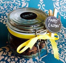 Easter gift to make - chocolate brownies