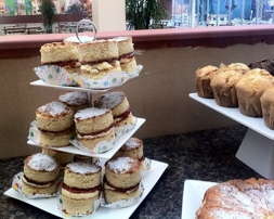 Cakes for afternoon tea | Local Food Surrey