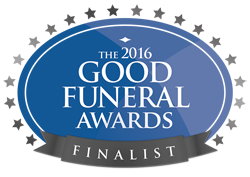 Funeral award for Rocket Catering, Bookham, Surrey | Local Food Britain