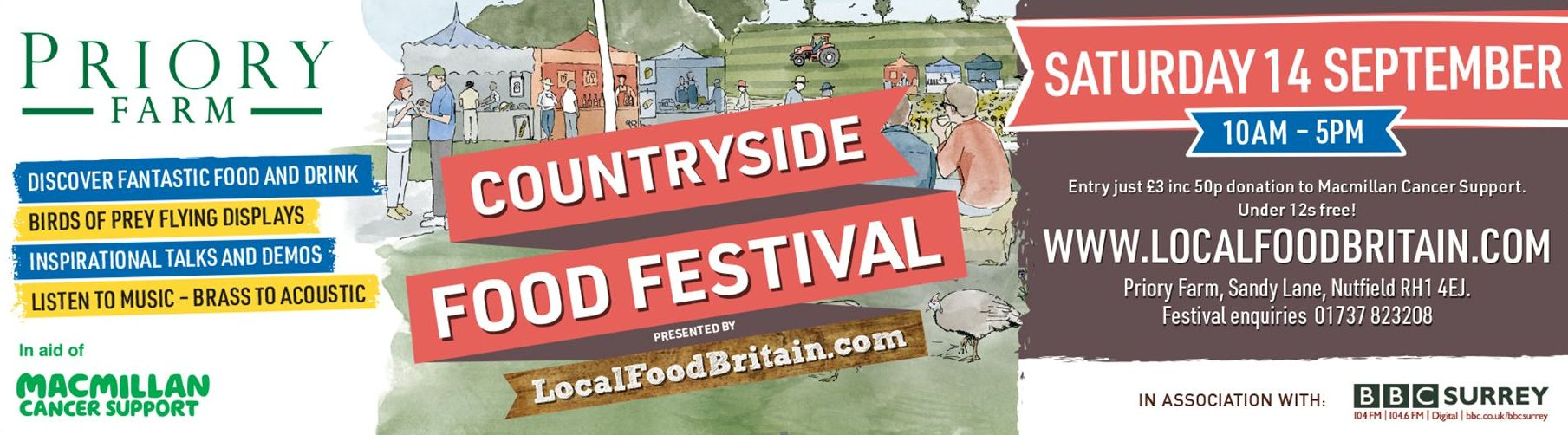 Local Food Britain's Countryside Food Festival