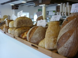 Fresh Crusty Bread in Hungry Guest Farm Shop, Local Food Sussex