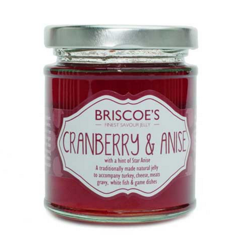 Briscoe's Cranberry & Anise Jelly, handmade in Surrey
