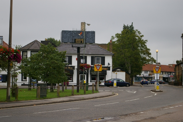 Hersham in Surrey