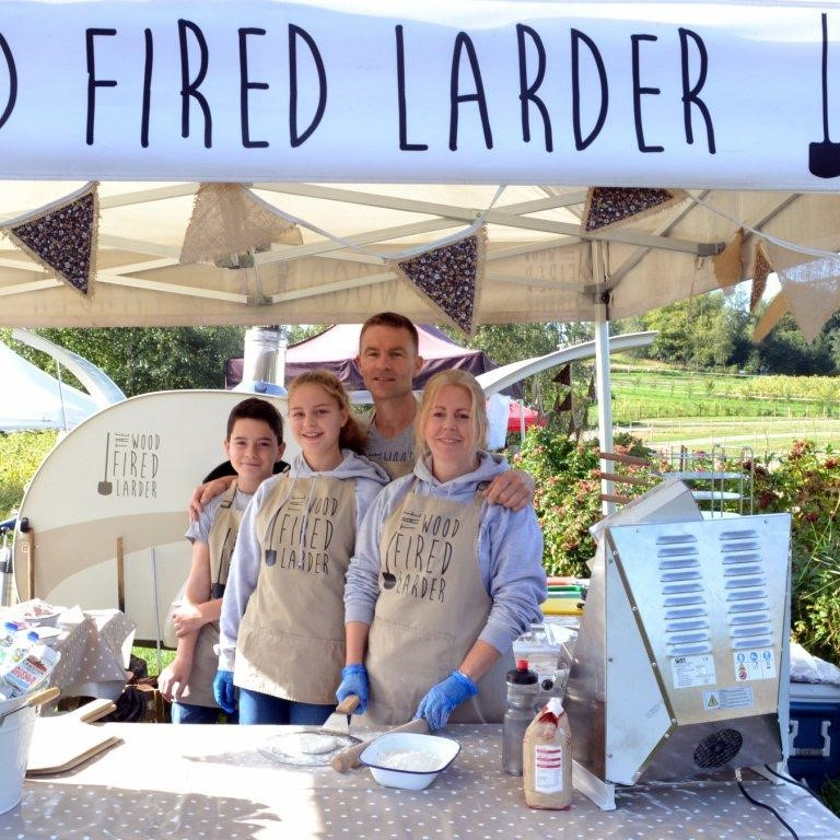 The Wood Fired Larder