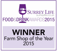 Farm Shop of the Year Surrey Life Food and Drink Awards 2015
