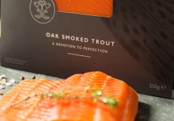 Oak smoked trout delivered to your door