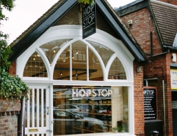 Hop Stop Shop Front | Local Food Surrey