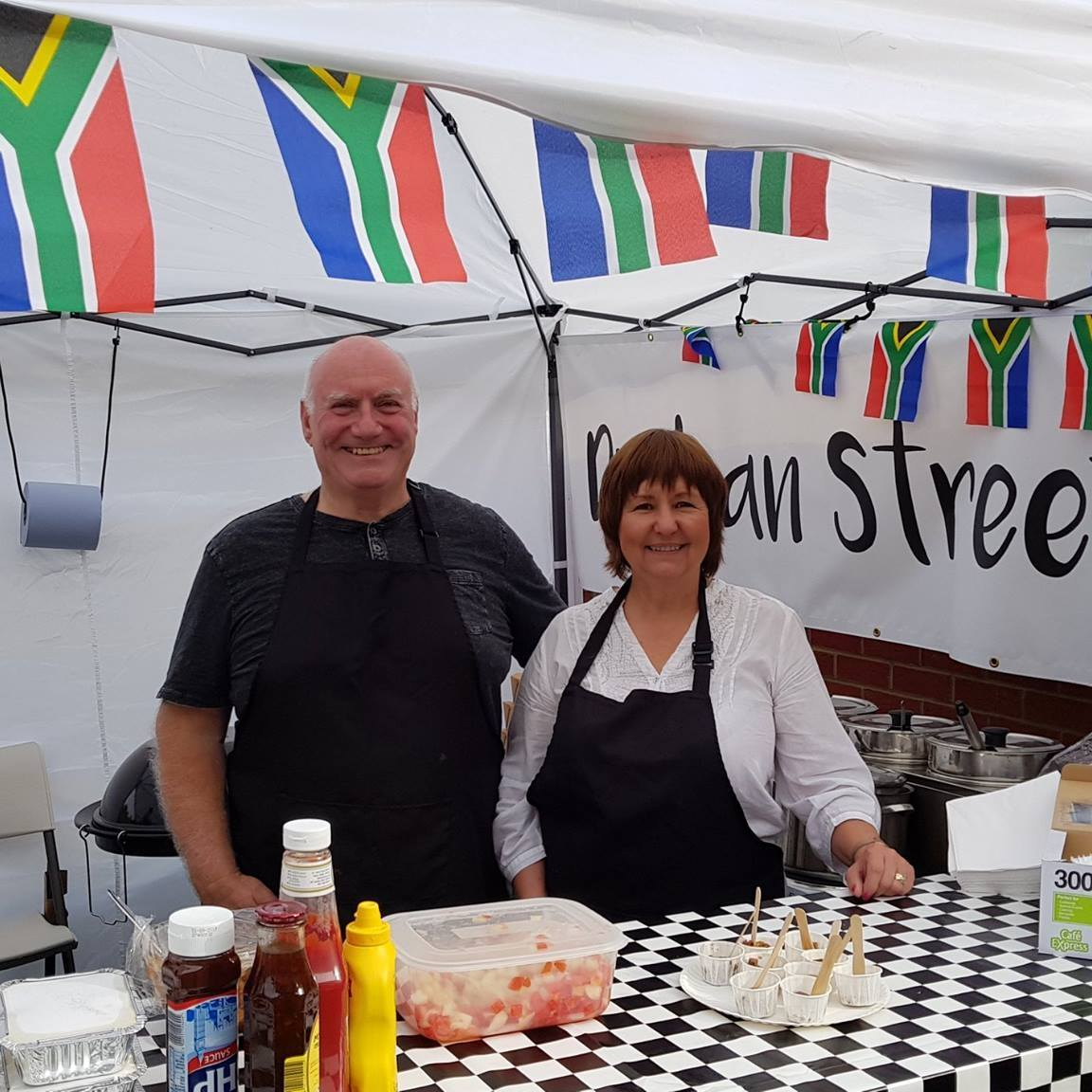 Durban Street Food owners Dave and Charmaine Mace
