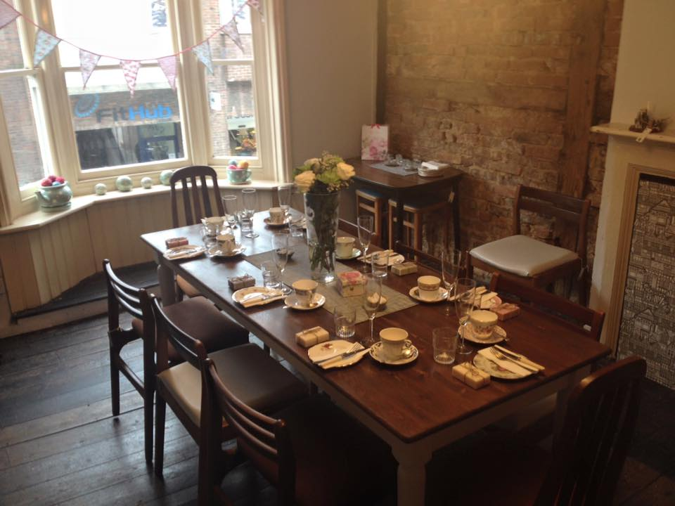 reigate high street tea shop, tea | local food surrey