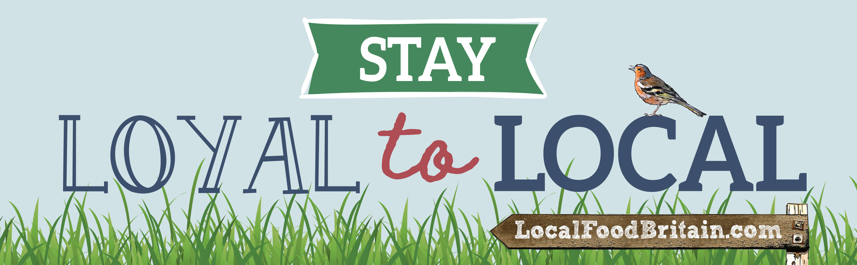 Stay Loyal to Local campaign logo