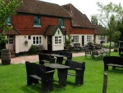 The garden at The Parrot Inn, Surrey