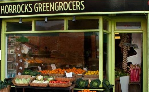 Saverios Greencrocers Shop in Chichester, Local Food Sussex