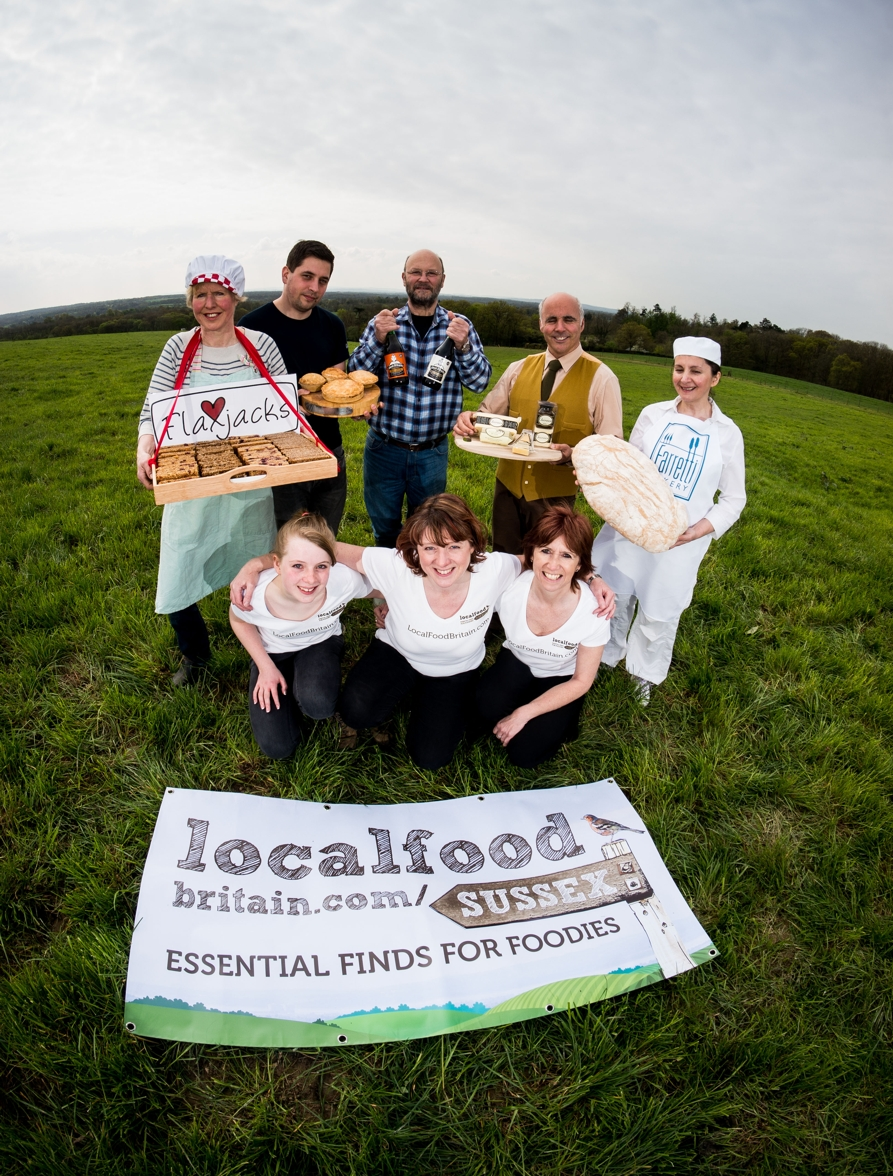 Launch of Local Food Britain in Sussex