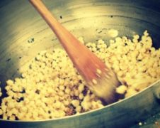 Kettle popped corn Popcorn Kitchen Woking