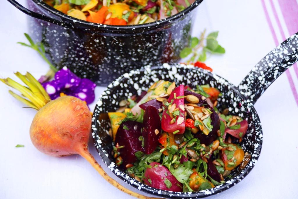 Roasted Secretts Beetroot Salad