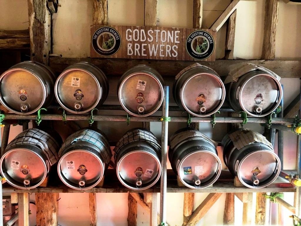 The Godstone Brewers beers