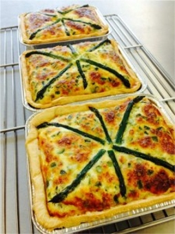 Handmade quiche from Secrett's of Milford | Local Food Surrey