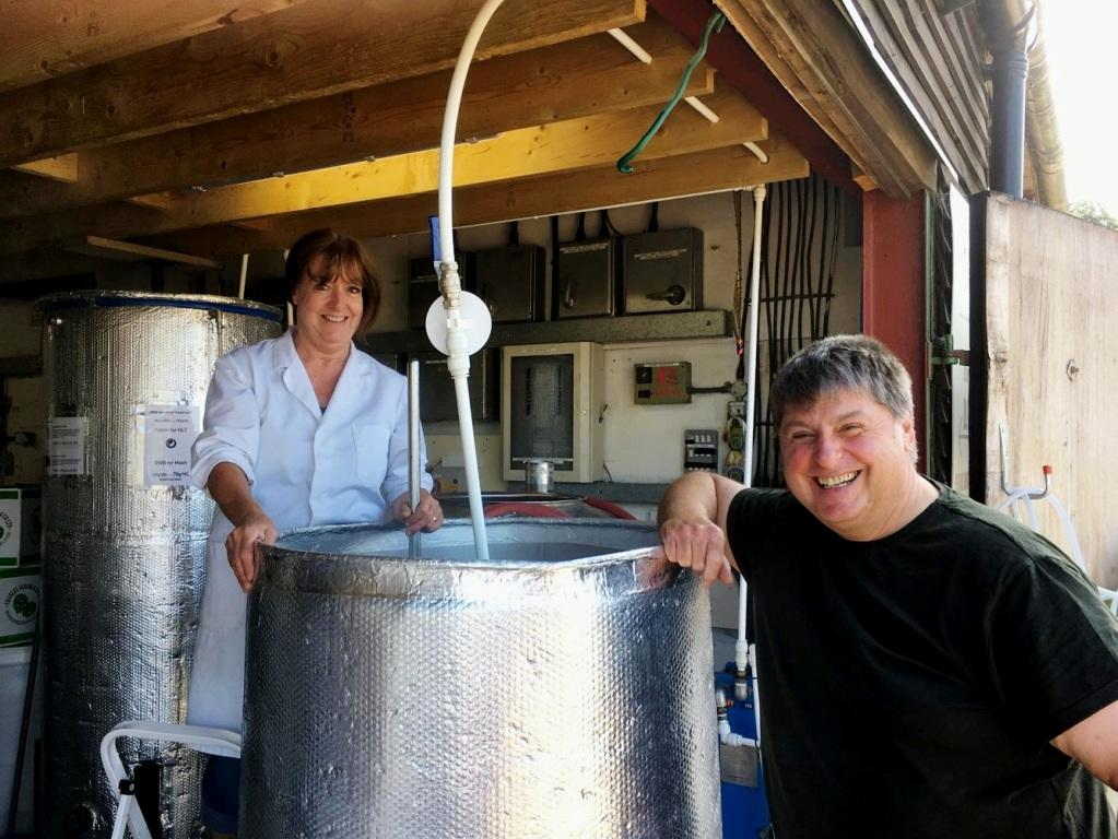 The Godstone Brewers' Anne and Steve