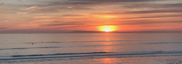 Sunset at Bracklesham Bay, East Wittering near Chichester | Local Food Sussex