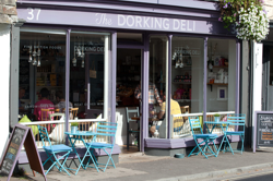The Dorking Deli on West Street, Dorking, exterior | Local Food Surrey