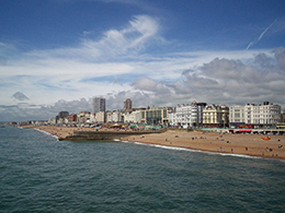 Brighton town and Pier, Local Food Sussex