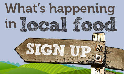 sign up for local food updates