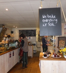 Interior of Chalk Hills Bakery Cafe, Reigate | Local Food Surrey