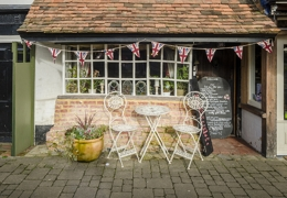 Pretty tea shop in Kent | Local Food Kent
