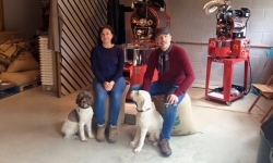Surrey Hills Coffee Monika and Chris | Local Food Britain