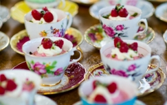 Rocket Catering Wedding Tea Cups | Local Food Surrey