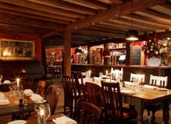 Interior of The Bell in Ticehurst | Local Food Sussex