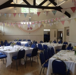 Room decorated for a party | Local Food Surrey