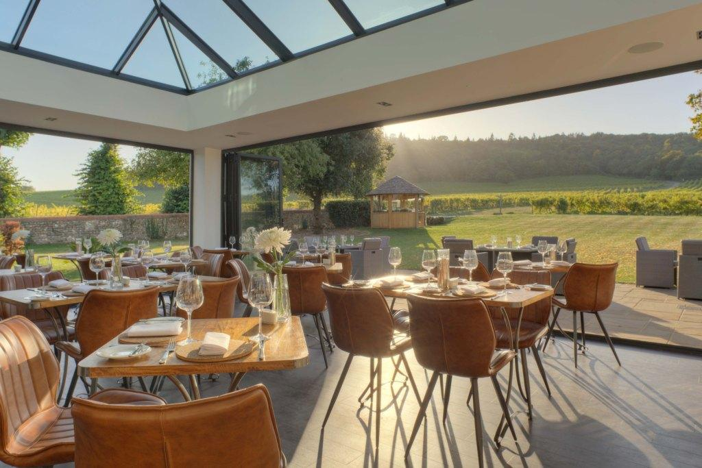 The Vineyard Restaurant at Denbies, Dorking