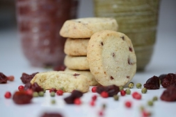 Cherry, peppercorn and kirsch shortbread | Local Food Surrey