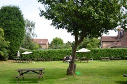 Pub garden at The Carpenters Arms Limpsfield Surrey