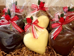 Wimblehurst Chocolate Hearts | Local Food Sussex