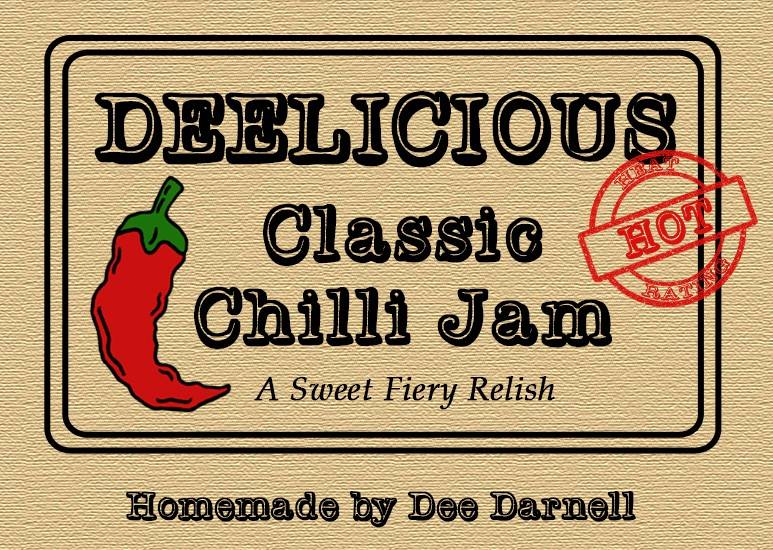 Deelicious Chilli Jam in