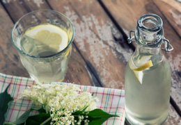 Freshly made lemonade from Sussex Farm Shop