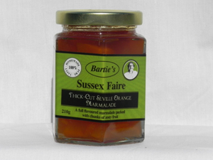 Barties Thick Cut Seville Orange Marmalade | Local Food Britain