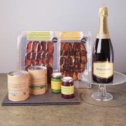 A Forest Field gift box with Sussex sparkling wine
