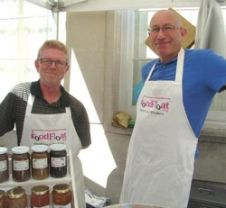 Tim and Phil Food Float Dorking