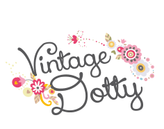 Vintage Dotty Mobile Tea Room in