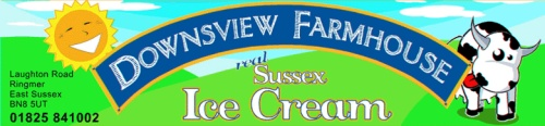 Downsview Farmhouse Sussex Ice Cream in