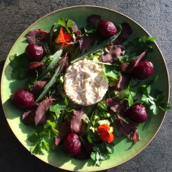 Venison salad from Sussex Gourmand