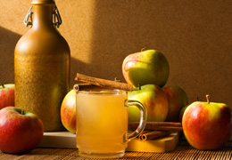 Local Dorset Ciders with Apples