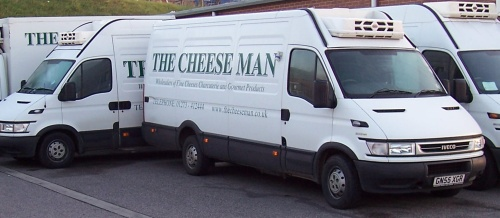 The Cheese Man wholesale delivery, Local Food Sussex
