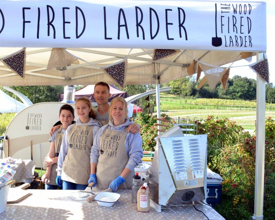 It's a true family affair at The Wood Fired Lader, Surrey