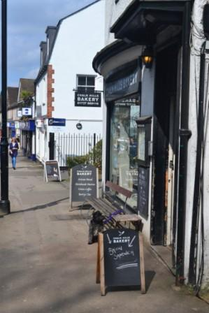 Chalk Hills Bakery coffee shop in Reigate, Surrey