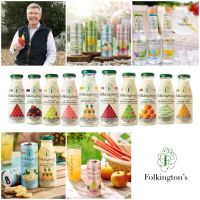 Sussex-based Folkington's bring fine wine spirit to fruit juice and soft drinks