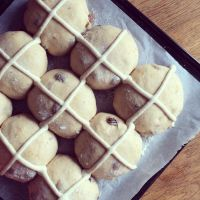 Modern Hot Cross Buns by Jack Sturgess
